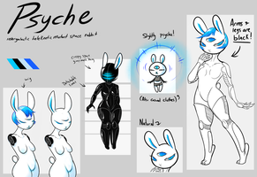 Character Reference: Psyche by kingcrowned
