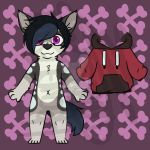 ~OPEN~ Anthro Canine Adopt by Esarts-Adopts