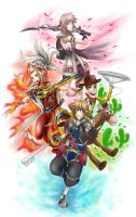KH 3 group (Contest Entry) by Sorata-Mae