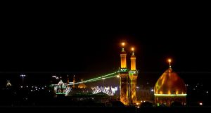Shrines of Al Hussain (as) and Al Abbas(as) - Karb by kpanna