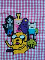 Updated Adventure Time Cross Stitch 3 by ArlieBelliveau
