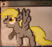 FOR SALE-Derpy Perler by bunnimation