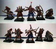 Mordheim Warband- Outlaw Heroes by NatteRavnen