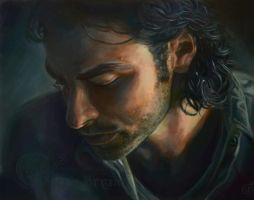 Aidan Turner by wildhaggisis