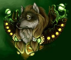 Worgen Druid by jidane