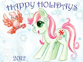 Mintys Happy Holidays by rayechu
