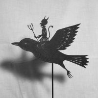 Vintage Devil - Shadow Puppet by PaperTales