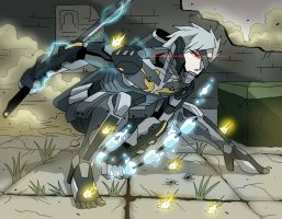 Metal Gear Rising: Revengeance - Raiden by levonn78