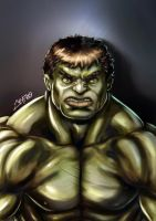 Hulk Re-Painting by Jeyfro