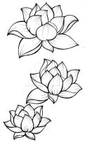 Lotus Blossom Tattoo by Metacharis