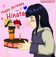Happy birthday hinata by hallow1791