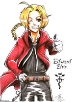 Edward Elric by PinK-BanG
