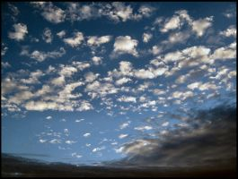 Two-tone clouds by Pianochick66