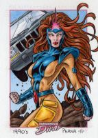 Jean Grey Dangerous Divas by tonyperna