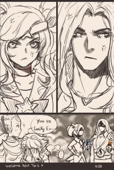 Welcome back Taric SAMA!!!!! by SongJiKyo
