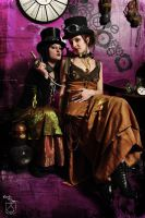 lady of gear and absinth by BlackNorns