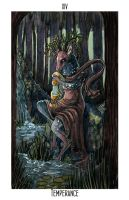 Tarot Commission: Temperance by M-Spencer