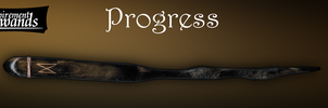 Progress (Handmade Harry Potter wand) by Inspirement