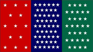 North American Union Flag by 3D4D