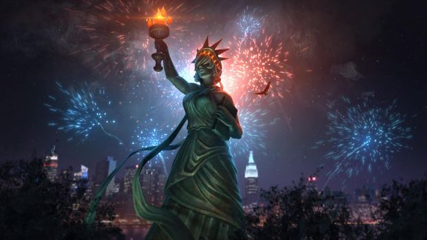 Lady Liberty Nox by Andantonius