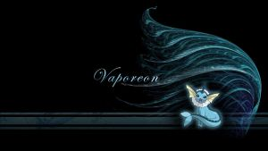 Vaporeon Wave Wallpaper by Wild-Espy