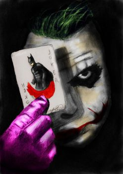 The Joker-Colored by Teh-Juice-One
