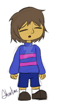 Request: Frisk by ShowtimeandCoal