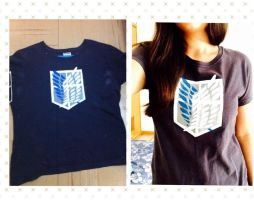 SNK T-shirt by SefiEK
