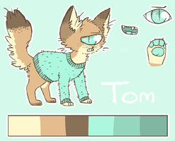 Reference sheet : Tom by Magnet-Crayon