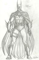Batman sketch 3 by RV1994