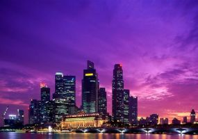 singapore-Boat quay by honeyslayer