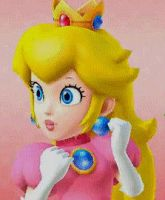 Princess Peach Icon by PeachyEstela