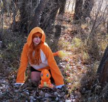 Charmander / Hitokage Gijinka by HeatherCosplay