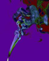 Psychedelic smoke by waggysue