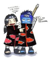 Itachi pokey teh sharky by firnantowen