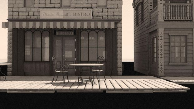 Cafe Front by bdagger