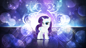Rarity Wallpaper by ErsatzNomenclature