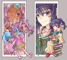 Tales of Eternia Bookmark Set by ehllychan