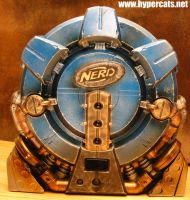 NERDCORE REACTOR BACKPACK WIP by Hypercats