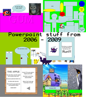 My Powerpoint Years 2006 - 2009 by TheLezh