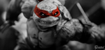 Raph Squad BW by Gaunted