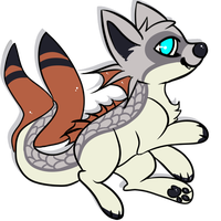 [Offer to adopt] .Fish cat. .:Closed:. by RallenLover293882883