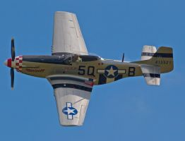 P51 Mustang Close up by davepphotographer