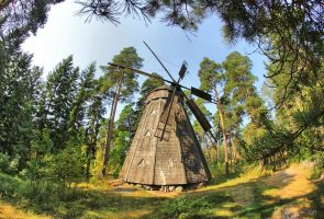 Old Windmill by Pajunen
