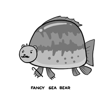 Fancy Sea Bear by arseniic