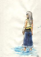 Watercolor Riku - KH2 by Rinny09