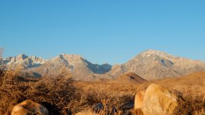 Sierras at Dawn by bowencormac
