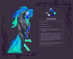 Kis'Whim the Neonar by OpalSkye