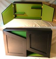 Green and Black Cabinet by kenshin1387
