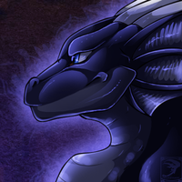 Icon Comish - Midnight Eyes by TwilightSaint